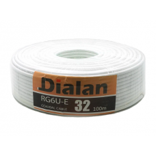 TV кабель Dialan RG6U (100м)