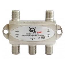 DiSEqC 2.0 4x1 Gi A401